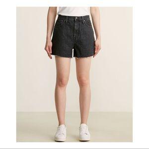 NWT Madewell Cold Stone Wash Denim Shorts